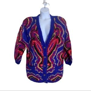 Vintage CLASSIQUES Sweater Mohair Blend Size L